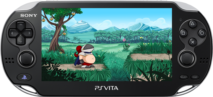 Sir Eatsalot exclusively for PlayStation®Vita